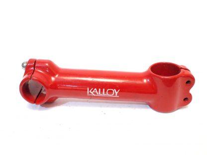 """Kalloy 1 1/8"""" 25,4mm punainen ahead ohjainkannatin"""